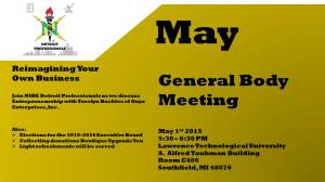 nsbe dp may gb meeting