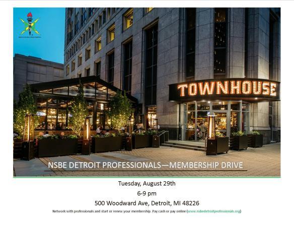 NSBE Detroit Membership Drive 2017