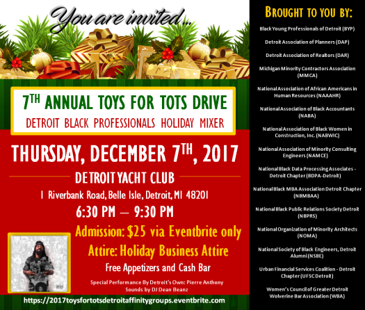 Toys for Tots 2017 - Horizontal